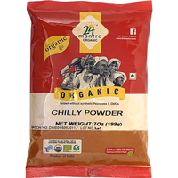 24 Mantra Organic Chilly Powder - 7 Oz