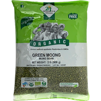 24 Mantra Organic Green Whole Moong - 2 Lb
