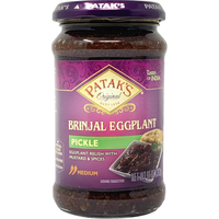 Patak's Brinjal Pickle - 11 Oz