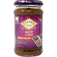 Patak's Hot Curry Spice Paste - 10 Oz