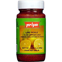 Priya Lime Pickle With Garlic - 300 Gm