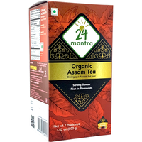 24 Mantra Organic Assam Tea - 100 Gm