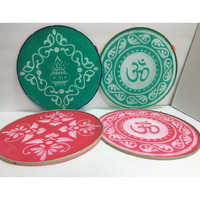 DIY 12   Large Rangoli Stencil Set for Instant Rangoli (2 pcs)