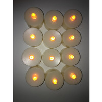 Led Tea Light Candles / Battery Operated Diwali Diya - 12 packs