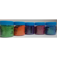 Neon Colors Rangoli Glitter Powder 6 pack