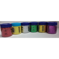 Basic Colors Glitter Rangoli Powder 6 pack