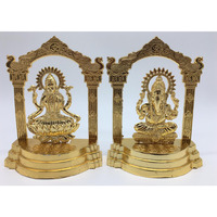Darbar Laxmi Ganesh (Gold Plated Idol) 6