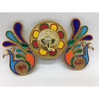 Peacock Design Subh Labh for Diwali Decor