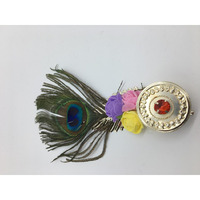 Peacock Feather w/ Container Return Gift