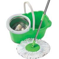 Handy Cleaning Mop With Swivel Handle For Wash And Dry