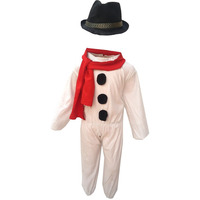 KFD Snow Man Fancy Dress for kids,Fairy Teles,Story book Costume for Annual function/Theme Party/Competition/Stage Shows/Birthday Party Dress
