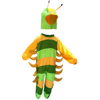 KFD Caterpillar fancy dress for kids,Insect costume for School Annual function/Theme Party/Competition/Stage Shows Dress