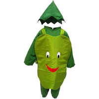 KFD Capsicum fancy dress for kids,Vegetables Costume for Annual function/Theme Party/Competition/Stage Shows Dress