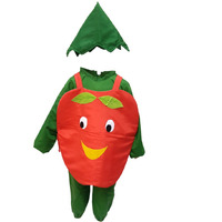 KFD Apple fancy dress for kids,Fruits Costume for School Annual function/Theme Party/Competition/Stage Shows Dress