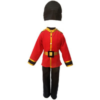KFD British Guard fancy dress for kids,Costume for Annual function/Theme Party/Competition/Stage Shows Dress