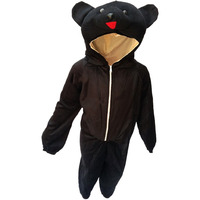 KFD Bear fancy dress for kids,Wild Animal Costume for School Annual function/Theme Party/Competition/Stage Shows Dress
