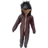 KFD Gorilla fancy dress for kids,Wild Animal Costume for School Annual function/Theme Party/Competition/Stage Shows Dress