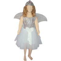 KFD Angel Fancy Dress for kids,Fairy Teles,Story book Costume for Annual function/Theme Party/Competition/Stage Shows/Birthday Party Dress