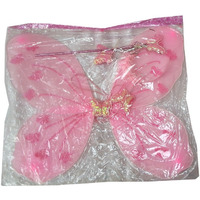 KFD Butterfly wings in Pink color accessories for Kids,Boys and Girls