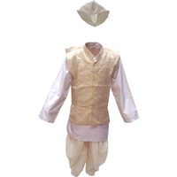 KFD Lal Bahadur Shastri fancy dress for kids,National Hero/freedom figter Costume for Independence Day/Republic Day/Annual function/Theme Party/Competition/Stage Shows Dress