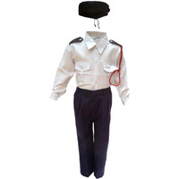 KFD Trafic Police Fancy Dress For Kids,Our Helper Costume For Annual Function/Theme Party/Competition/Stage Shows Dress