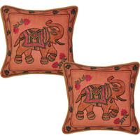 Indian Vintage Cushion Cover Decor Embroidered Pillow Covers 17  Bedding Gift