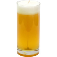 Aura Beer Glass Candle|Beer Glass|Jamine Fragrance|Burn Time 90-100 Hours
