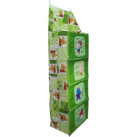Love Baby Teddy Bear Cupboard 4 Step - DKBC11 Green