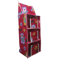 Love Baby Teddy Bear Cupboard 3 Step - DKBC10 Pink