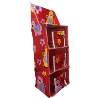 Love Baby Teddy Bear Cupboard 3 Step - DKBC10 Red