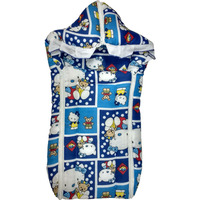 Love Baby Double Chain Sleeping Bag  - 494 Navy