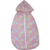Love Baby Sleeping Bag With Zip - 501 Pink P1