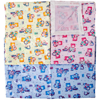 Love Baby Soft Bed Sheet Plastic - 613 E Combo 2