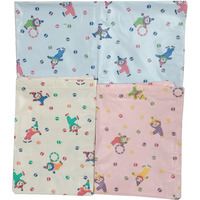 Love Baby Soft Bed Sheet Plastic - 713 D Combo