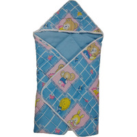 Love Baby Cotton Bath Dryrobe - 565 Blue
