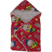 Love Baby Cotton Bath Dryrobe - 566 Red