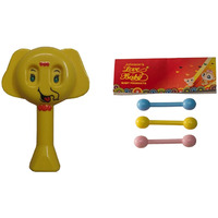 Auto Flow Rattle Toy- Elephant Toy - BT25 Combo Yellow