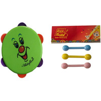 Auto Flow Rattle Toy - Dafli Toy - BT26 Combo Green