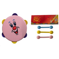 Auto Flow Rattle Toy - Dafli Toy - BT26 Combo Pink