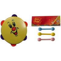 Auto Flow Rattle Toy - Dafli Toy - BT26 Combo Yellow