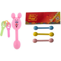Auto Flow Rattle Toy - Jinny Toy - BT27 Combo Pink