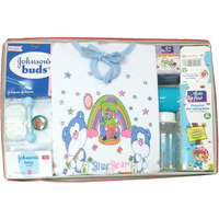 Love Baby Gift Set -Gold Coin Blue