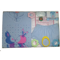 Love Baby Gift Set - Tom & Jerry Blue
