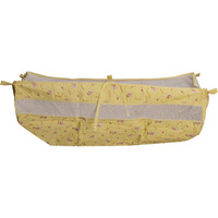 Love Baby Cradel cloth With Side Net - 571 Yellow
