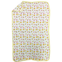 Love Baby Bath Towel Cotton Printed With Hood - 1911 P4 Yellow