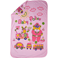 Love Baby Bath Towel Tery Super Fine Printed With Hood -1921  Pink