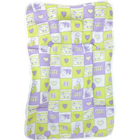 Love Baby Cotton Fix Pillow Mat - 557 Purple