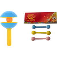 Auto Flow Rattle Toy - Rock-N-Roll - BT23 Yellow Combo