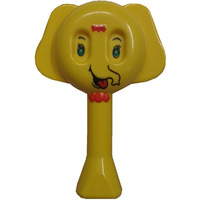 Auto Flow Rattle Toy- Elephant Toy - BT25 Yellow