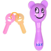 Auto Flow Rattle Toy - Jinny Toy - BT27 Purple